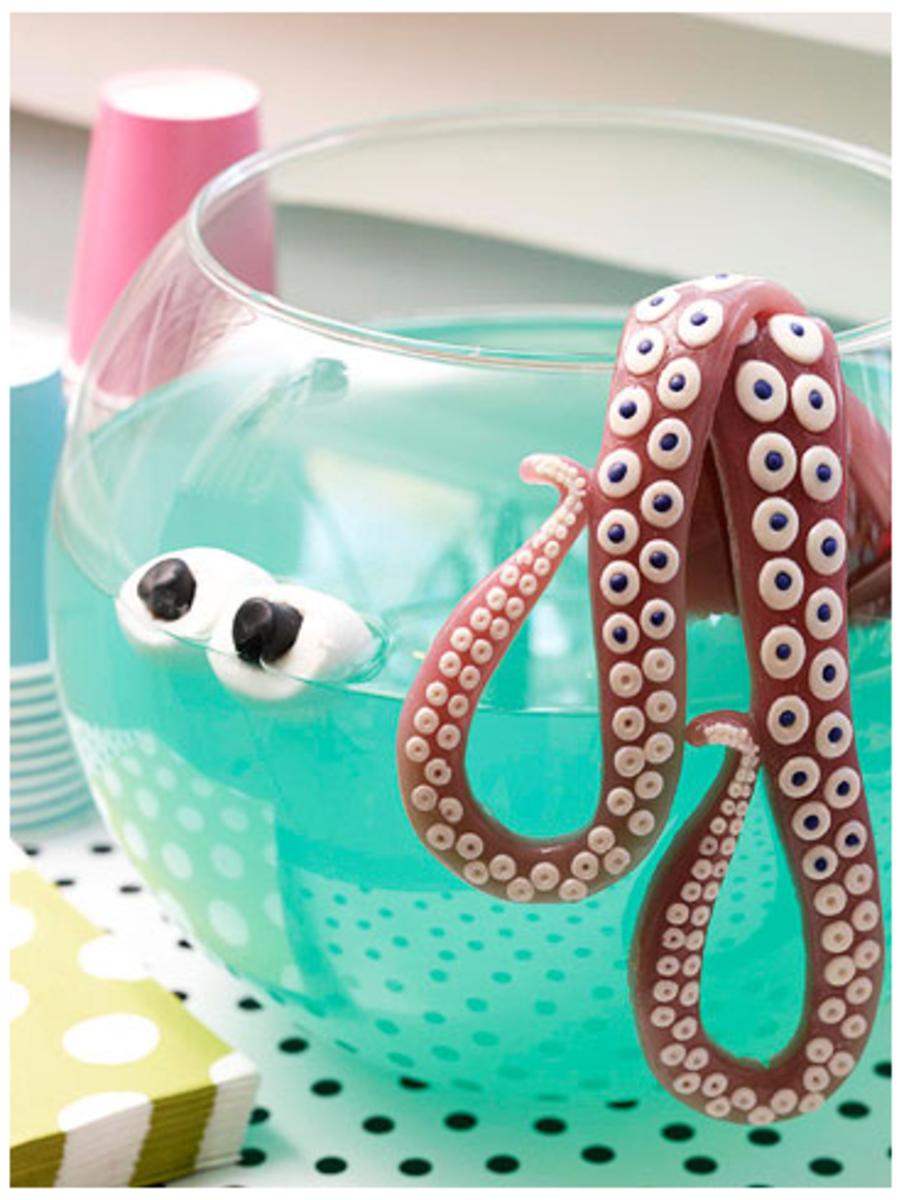 Halloween Octopus Punch
