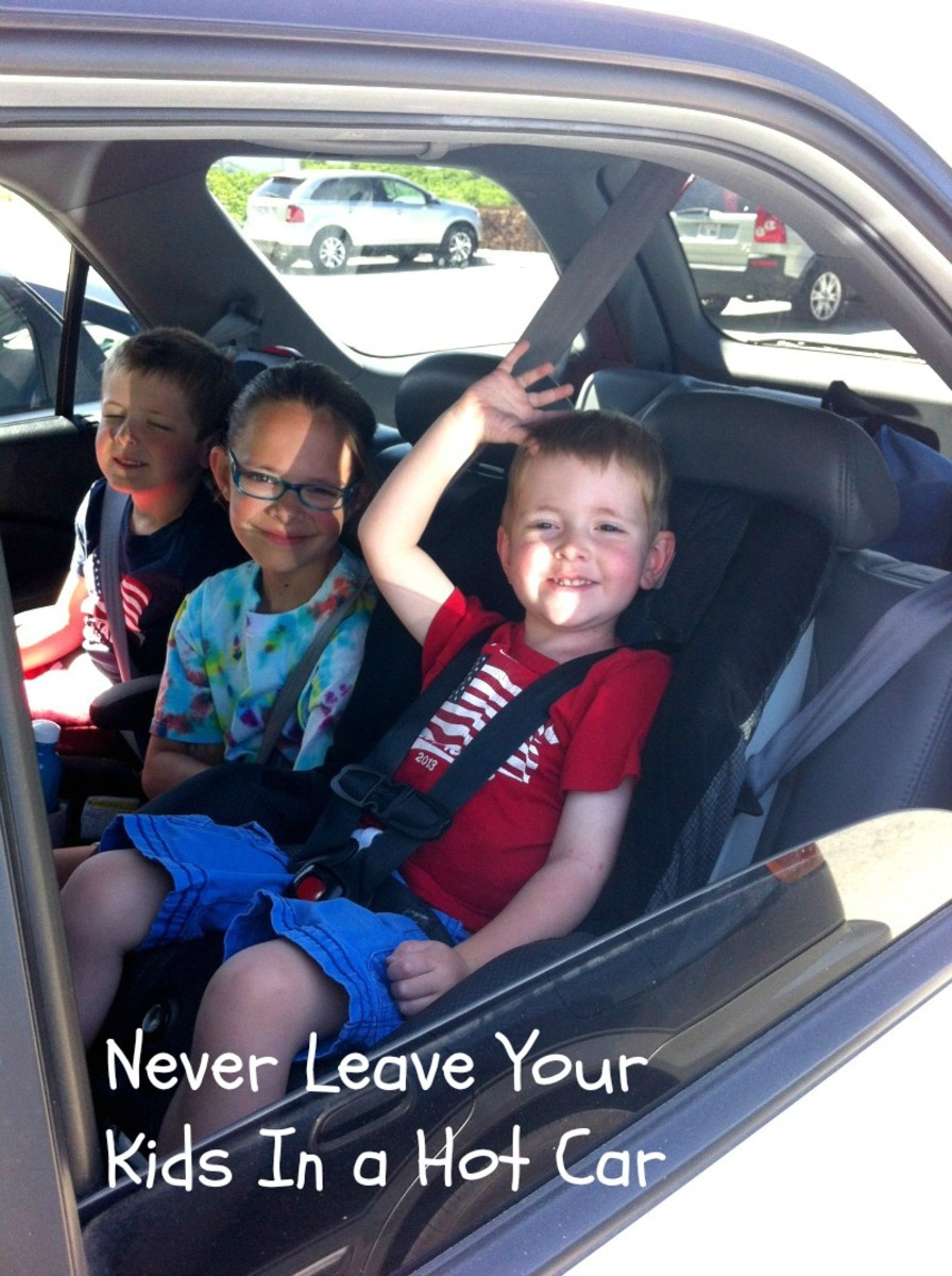Summer Safety Tips for Kids - Never Leave Kids in a Car