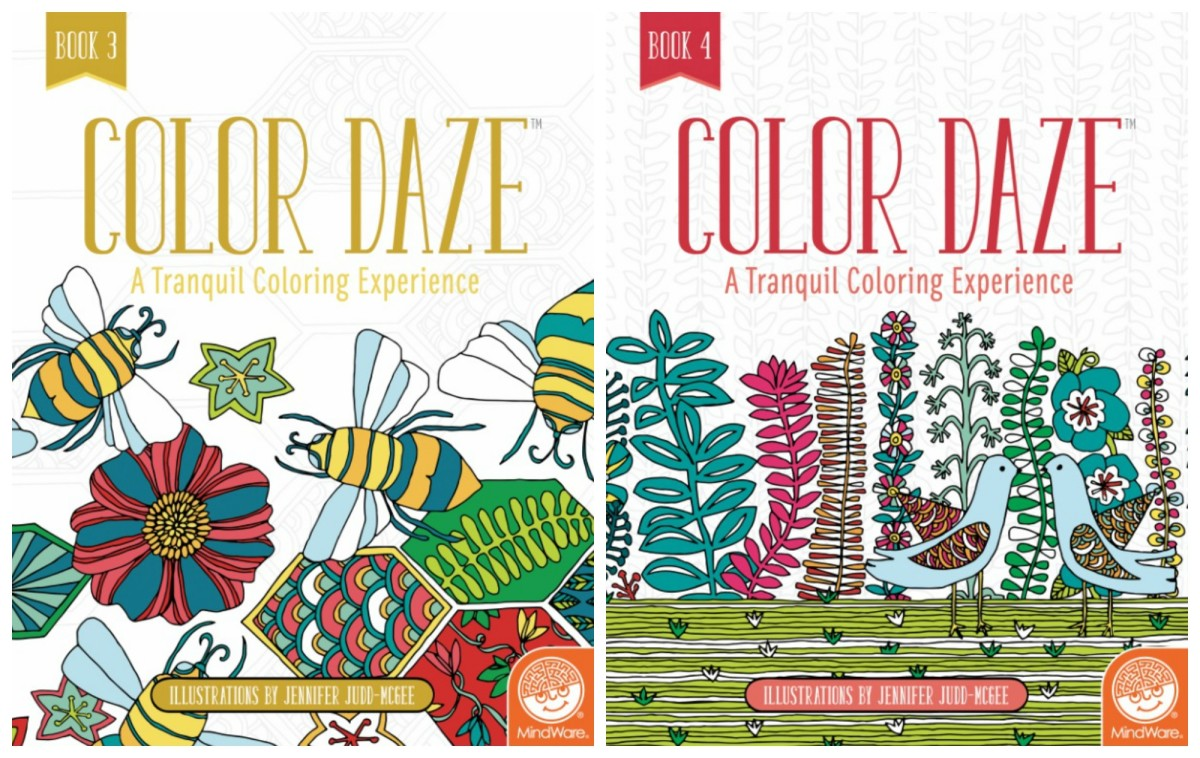 Color Daze Coloring Books