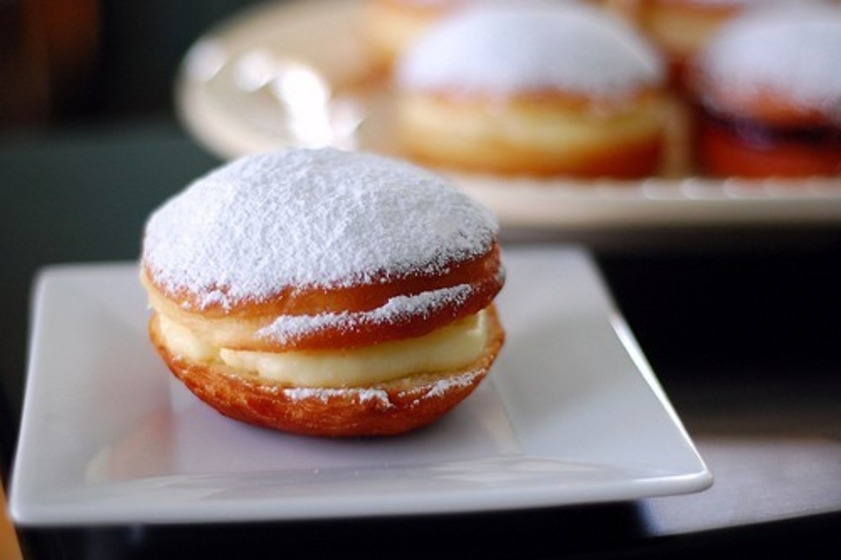 Paczki From Pennies on a Platter