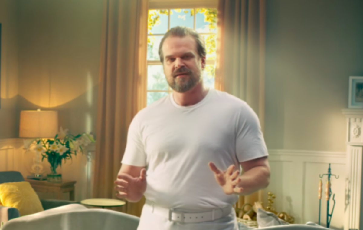 David Harbour Tide Commercials Super Bowl