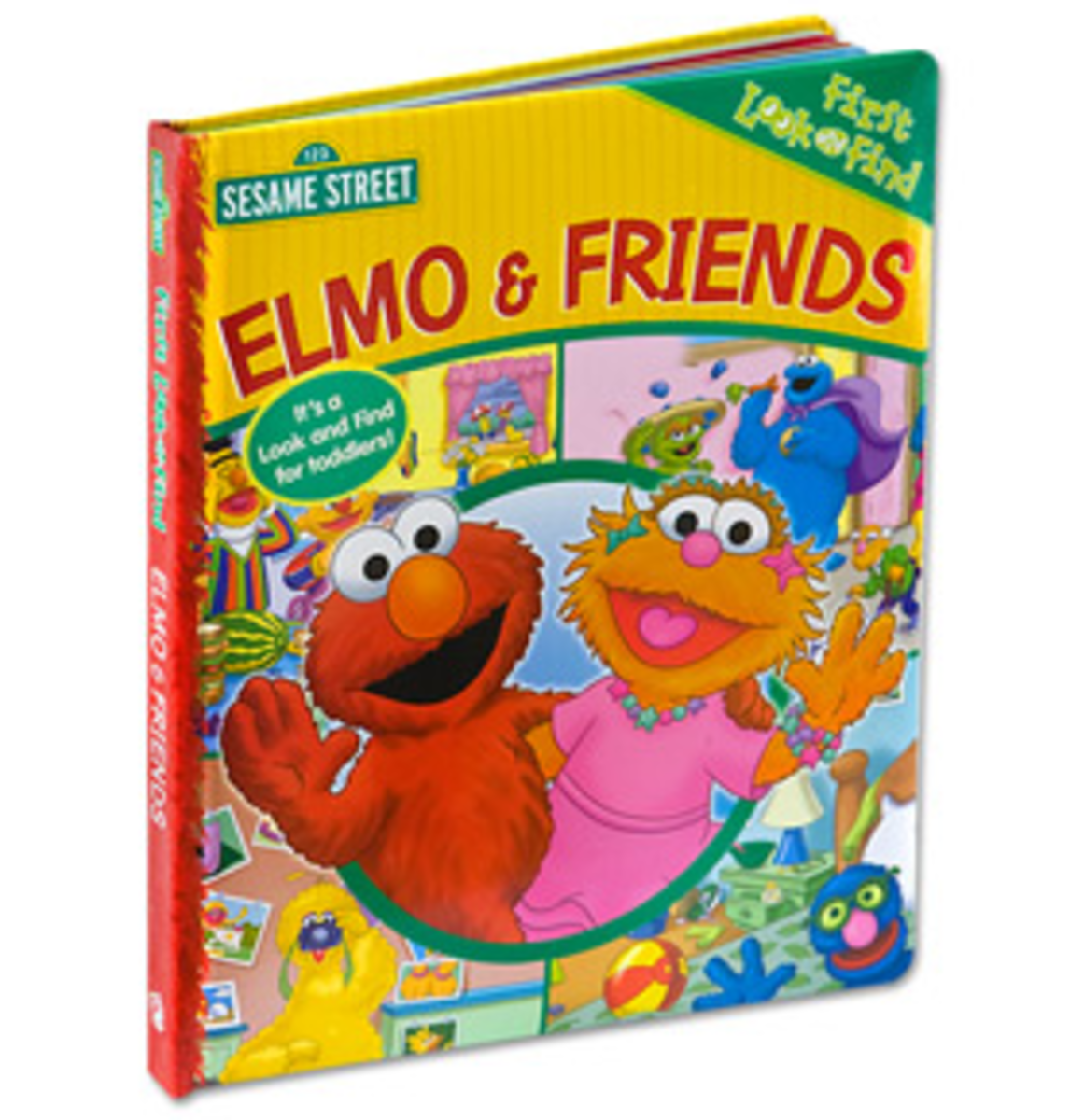 Sesame Street Look and Find - Elmo and Friends