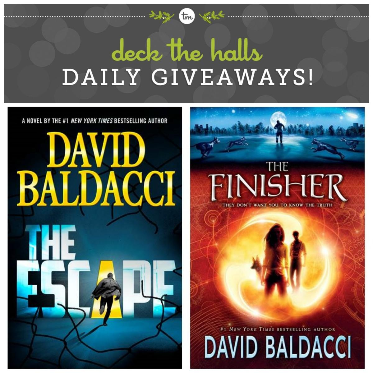 Deck the Halls with David Baldacci