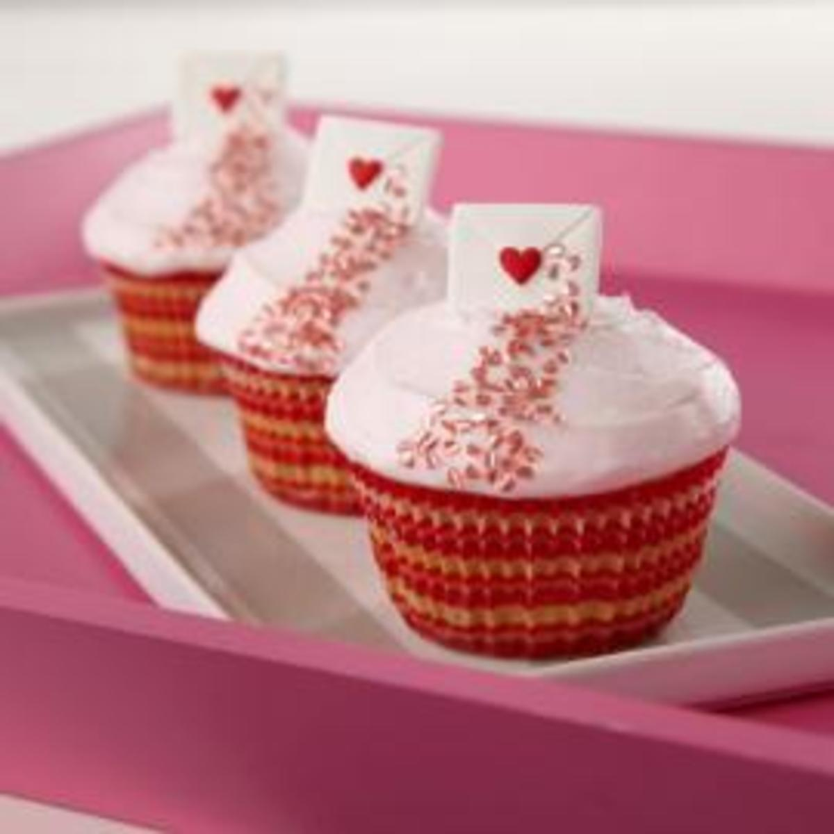 7 Valentine's Day Cupcake Recipes