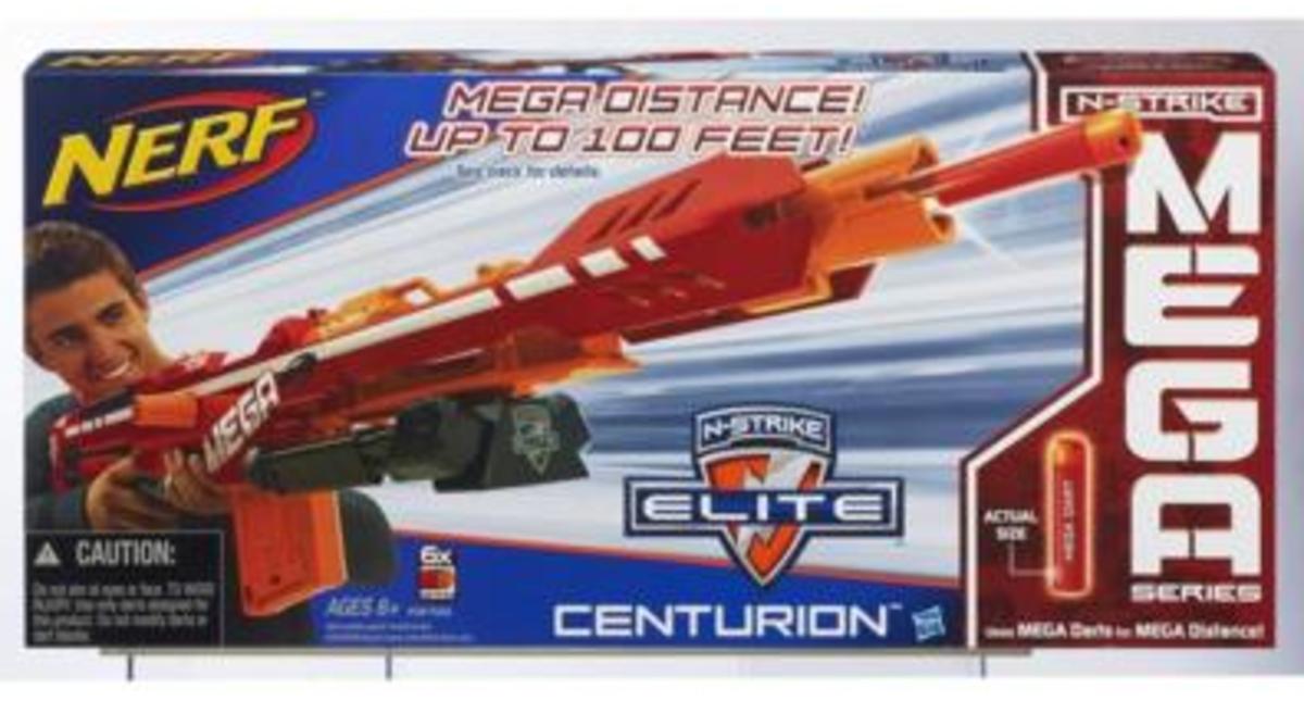 TodaysMama.com Holiday Gift Guide: Nerf Centurion Blaster