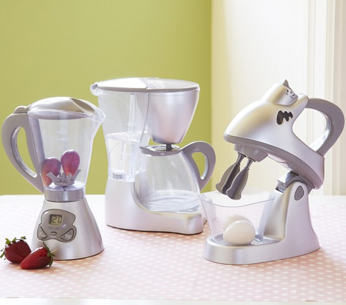 Holiday Gift List on TodaysMama.com: Toy Kitchen Appliances from Pottery Barn