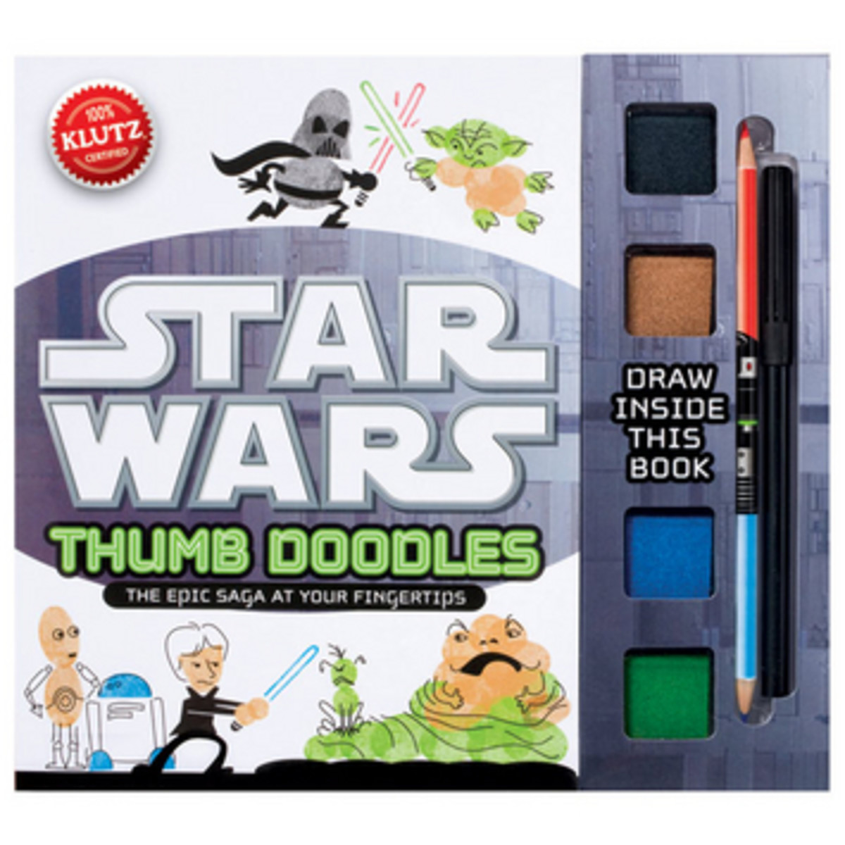 TodaysMama.com Holiday Gift Guide: Star Wars Thumb Doodles