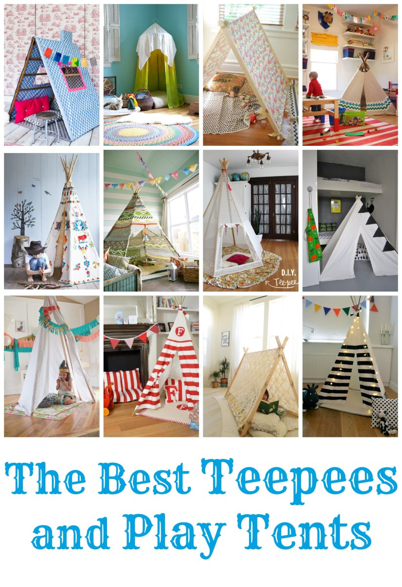 TodaysMama.com Holiday Gift List: DIY TeePees