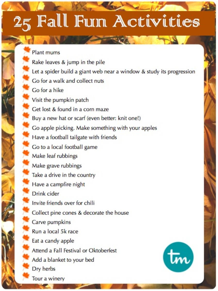 25 Fall Fun Activities