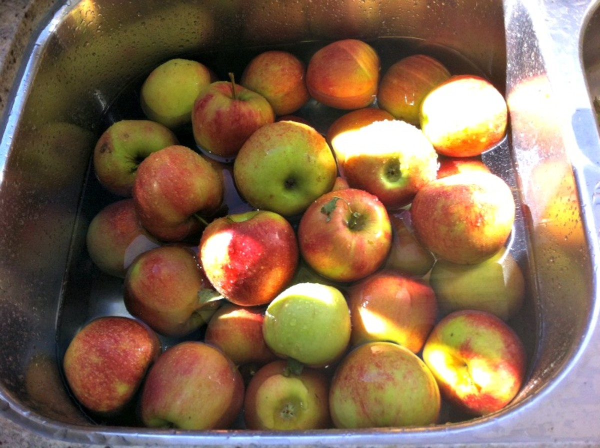 Sink Full of Apples