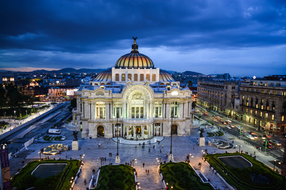 Palacio de Bellas Artes in Mexico City (Flickr: Mario Paredes)