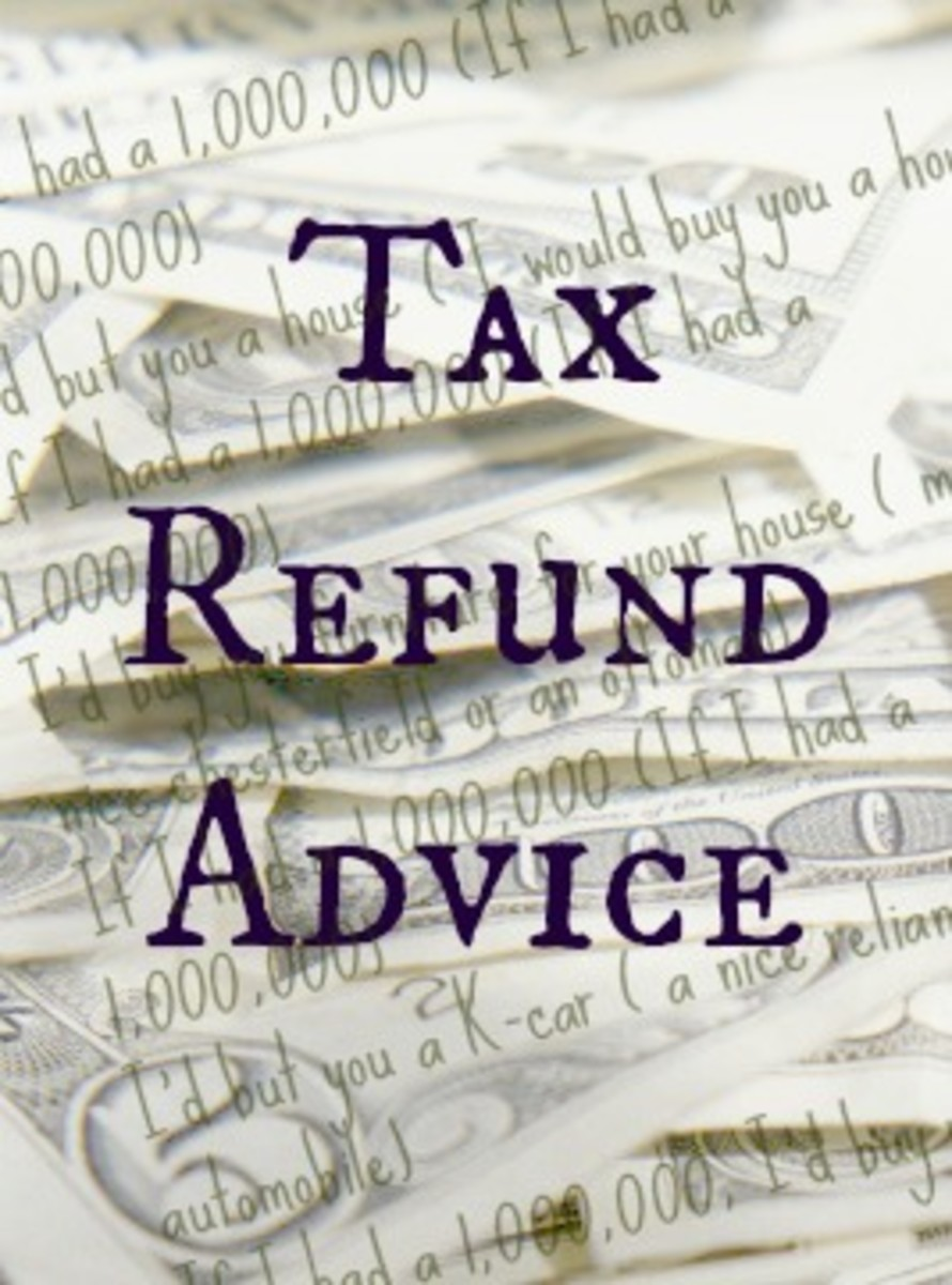 Tax Refund Advice