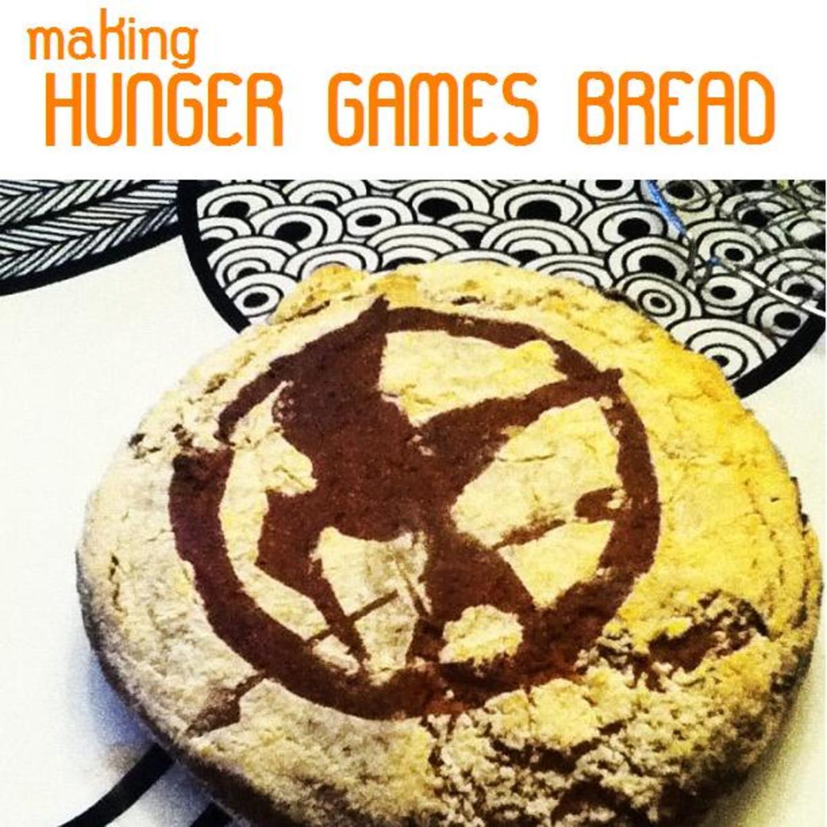 Hunger Games Bread Pinterest