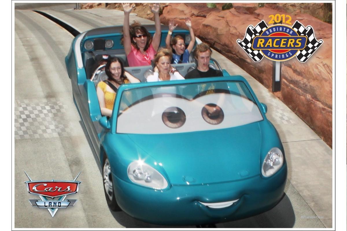 Radiator Springs Racers Ride - Cars Land