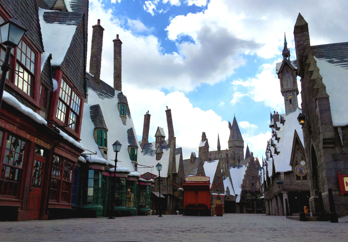 Hogsmead at Universal Studios Hollywood (Courtesy Universal Studios Hollywood)