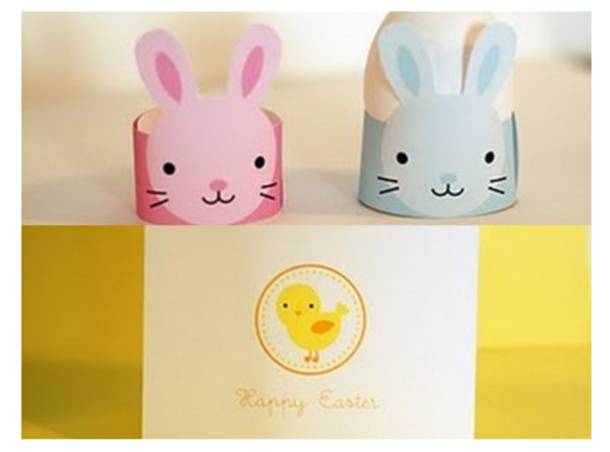 Free Printable Easter Egg Holders