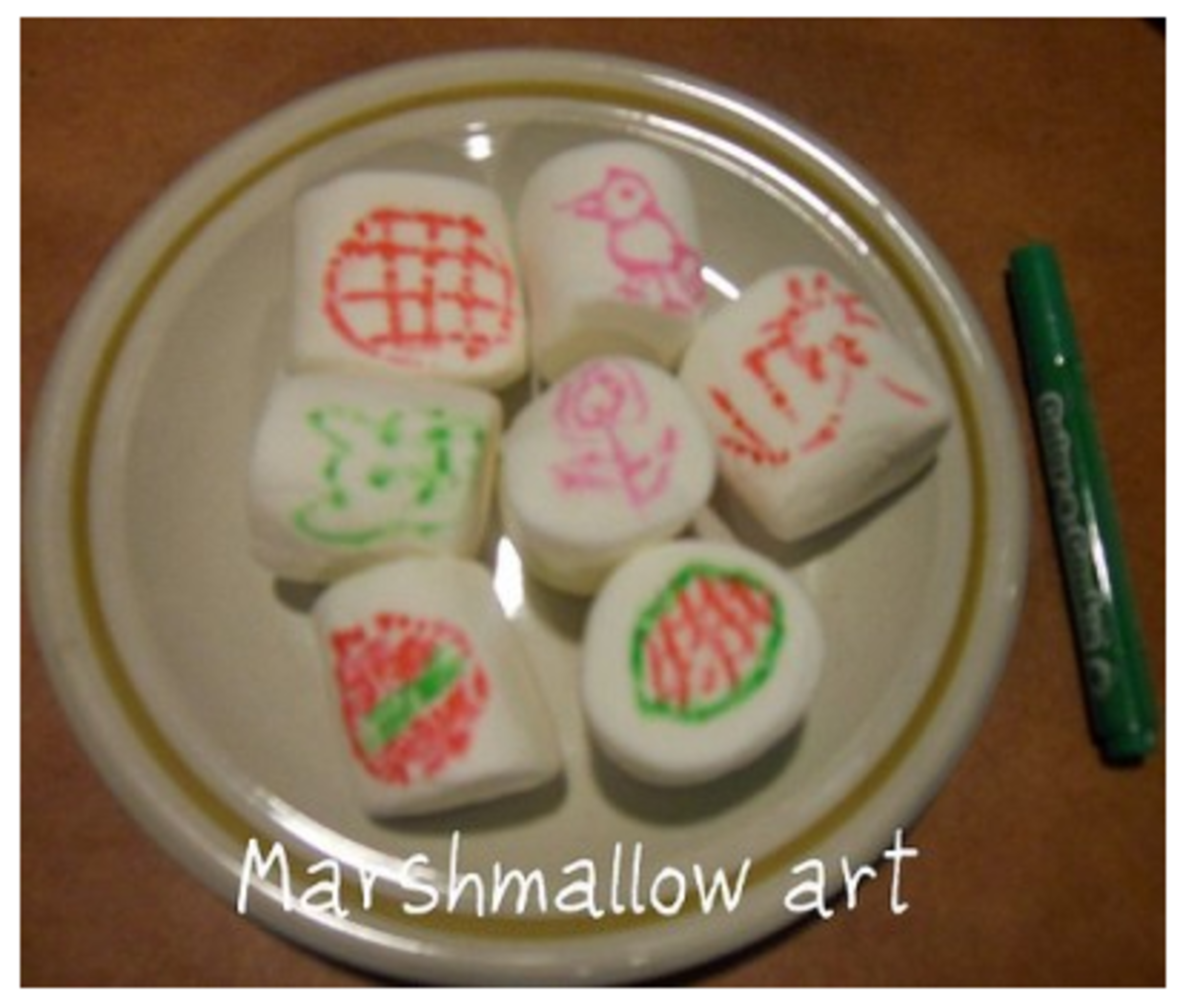 Marshmallow Art