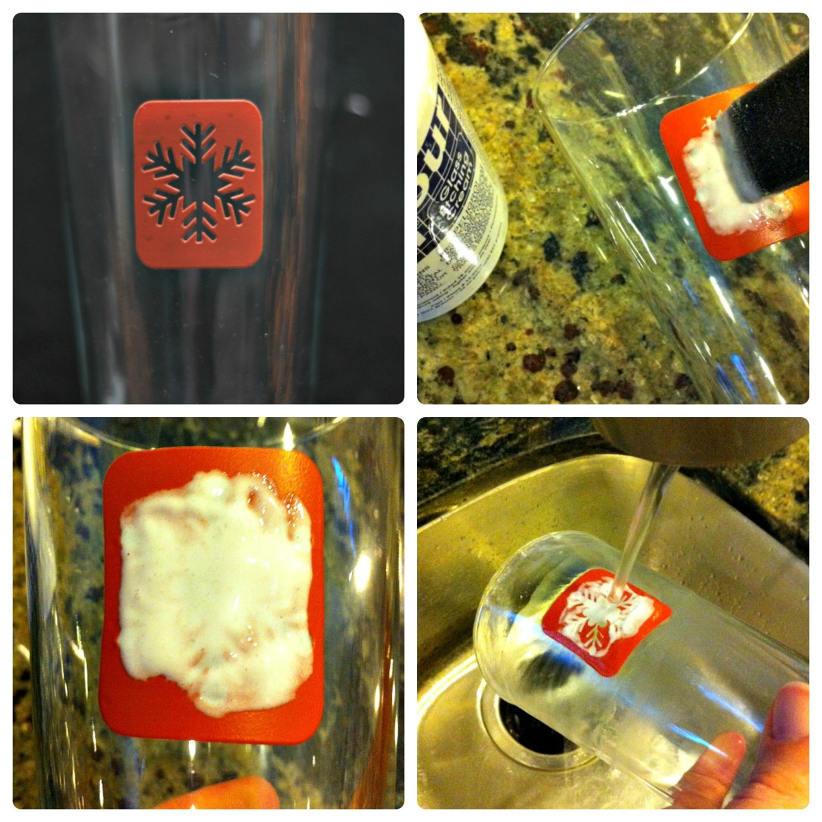DIY Etched Glasses Step by Step - TodaysMama.com