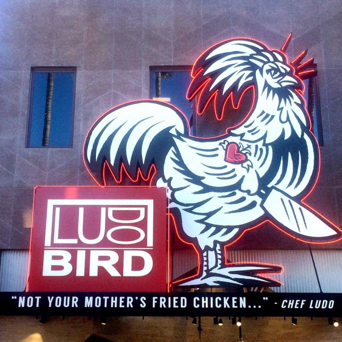 LudoBird at Universal Studios Hollywood (Courtesy Ludo Lefebvre)
