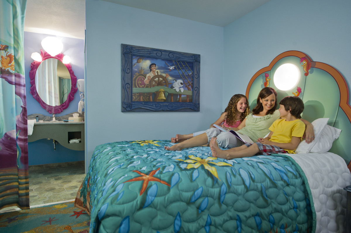 "Disney's Art of Animation Resort: ""The Little Mermaid"" Standard Room"