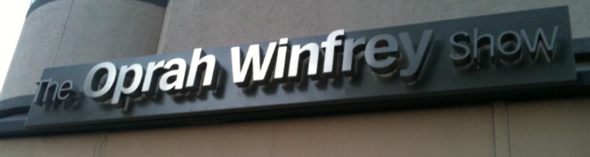 Oprah Winfrey Show sign