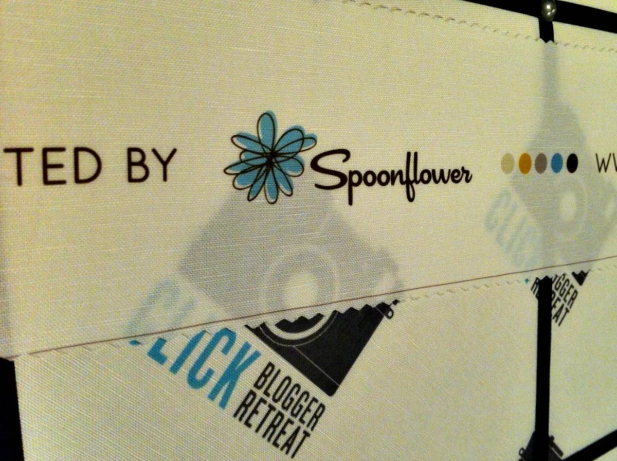 Spoonflower and Click Retreat - TodaysMama.com