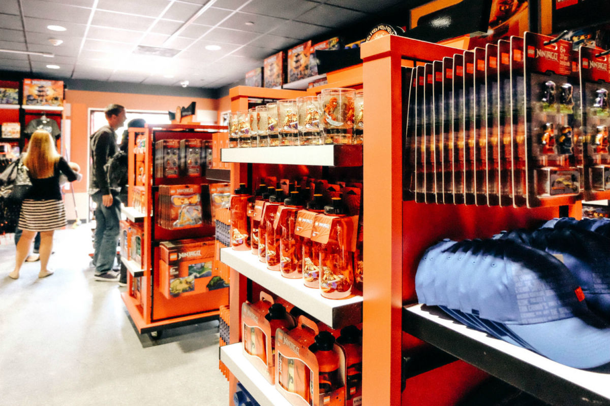 NINJAGO merchandise at Wu's Warehouse (Photo: Michelle Rae Uy)