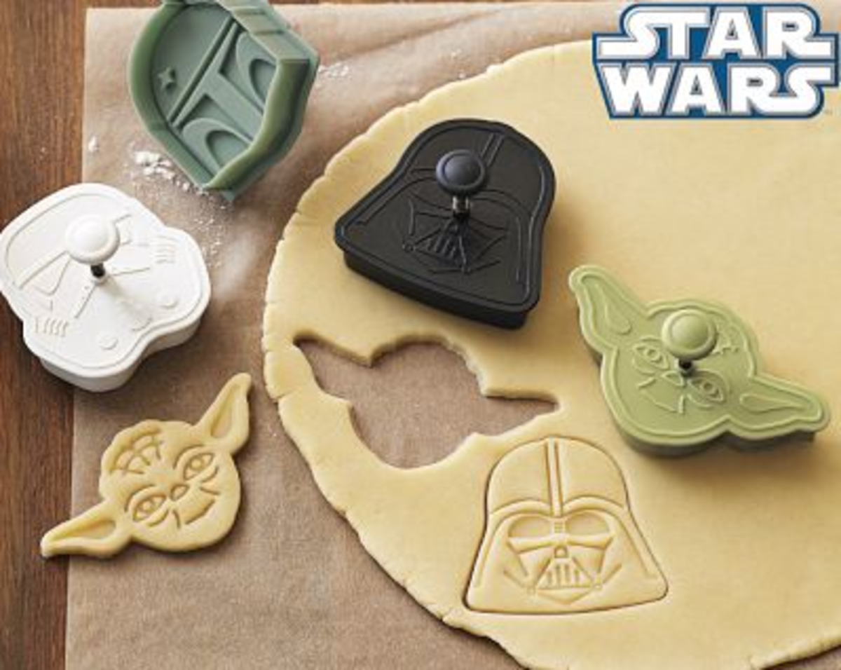 Star Wars Heroes and Villains Cookie Cutters