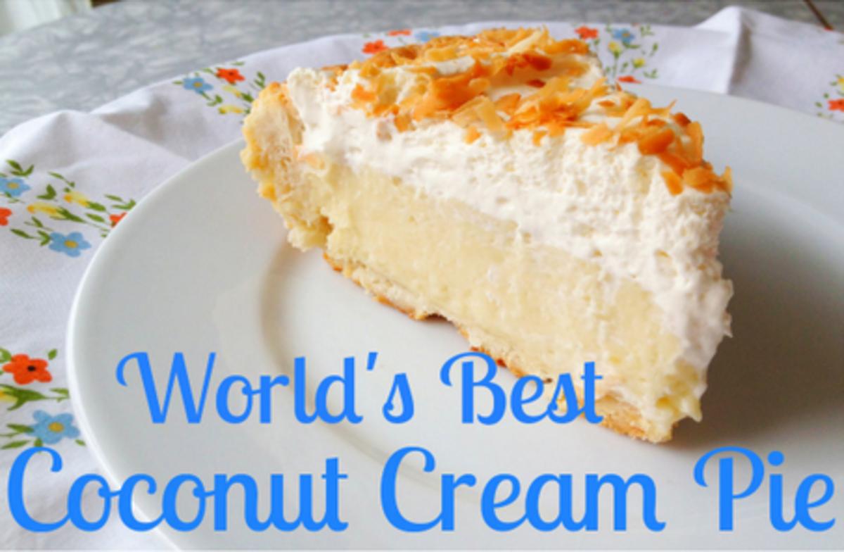 World's Best Coconut Cream Pie Recipe