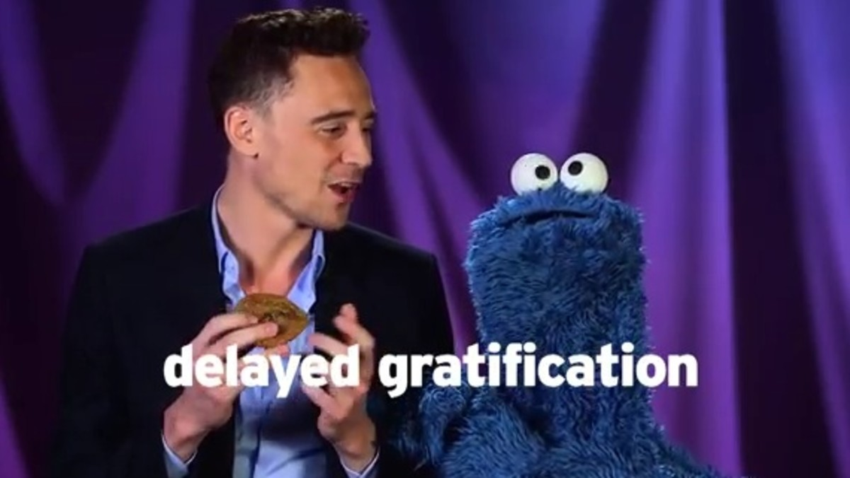 Cookie Monster Delayed Gratification
