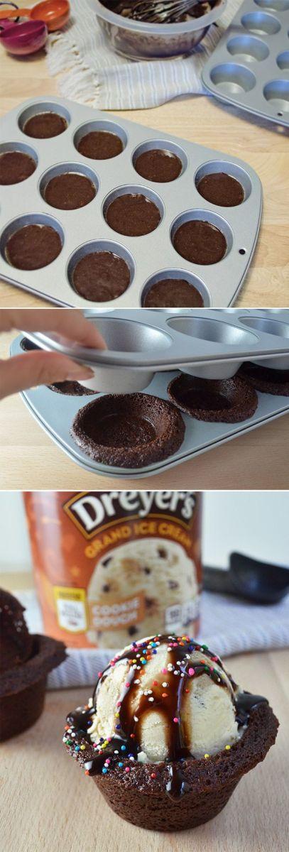 Brilliant Food Hack! Brownie Bowl Sundays