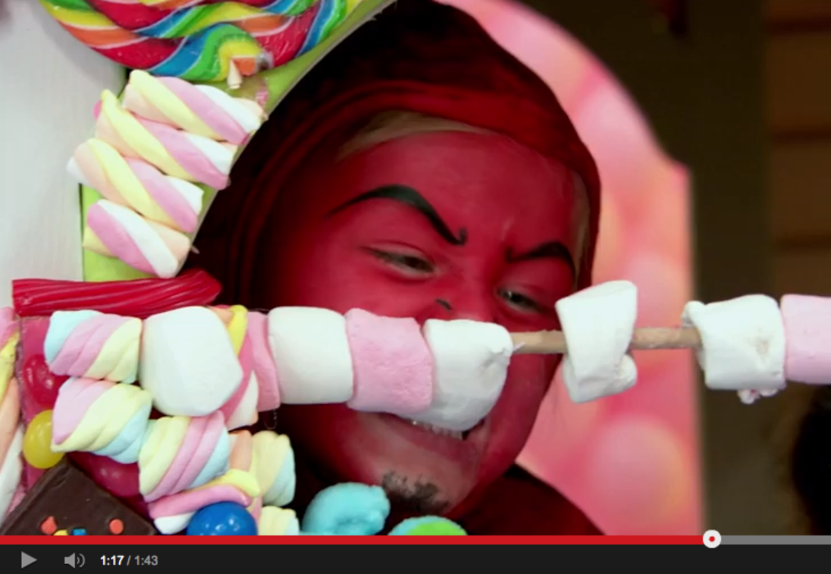 Crest Halloween Video Effect of Candy on Kids