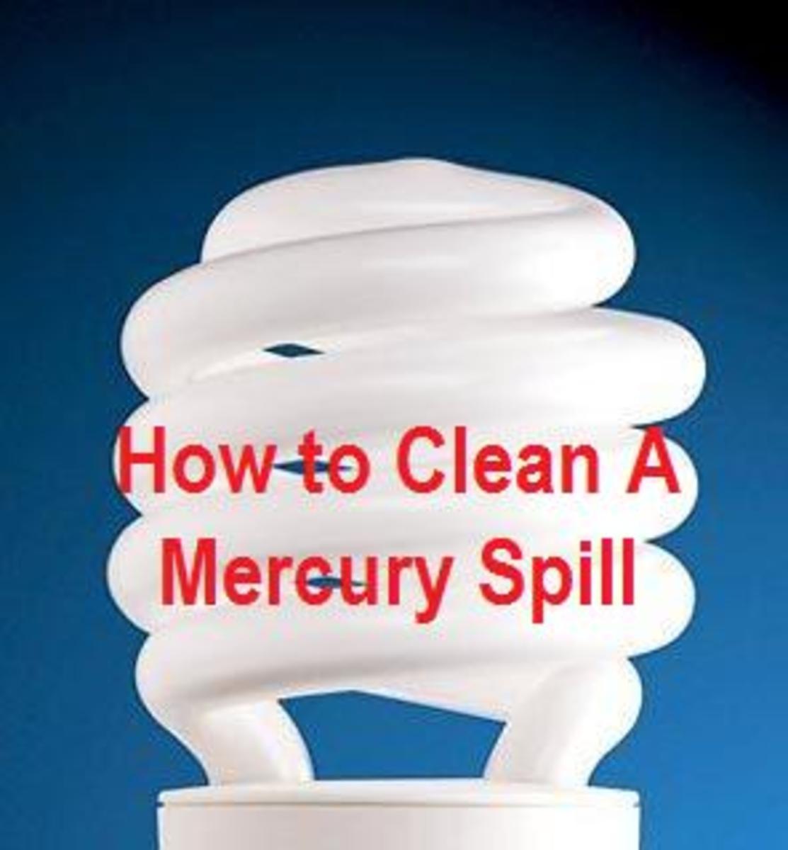 clean mercury spill