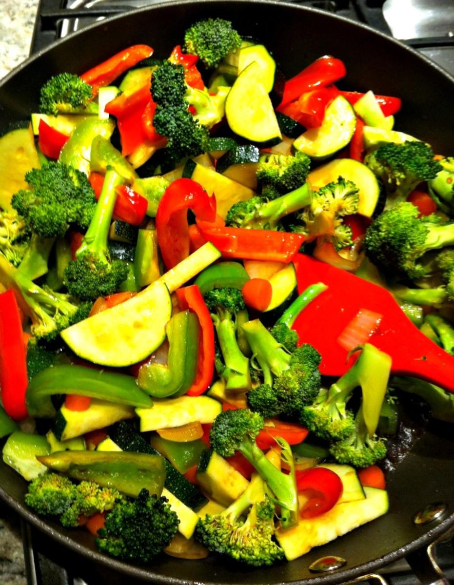 Stir Fry Veggies with Zucchini
