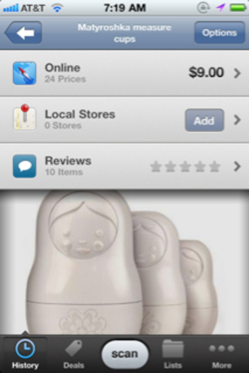 ShopSavvy Barcode Reader App