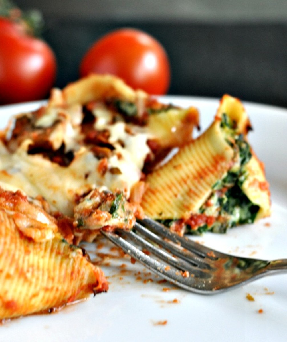 Spinach and Pasta Recipe - Spinach Cannelloni - TodaysMama.com