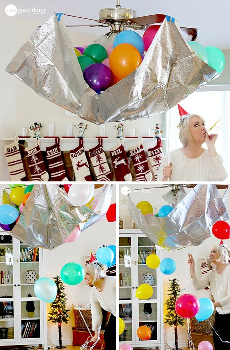 DIY New Year's Eve Party Ideas