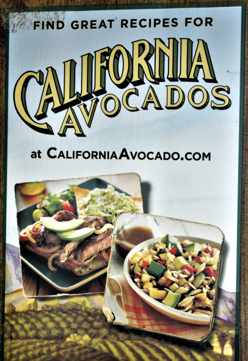 California Avocado Growers Sign