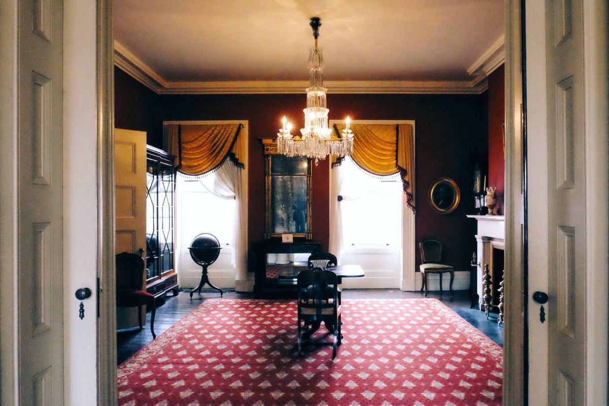 Inside Ten Broeck Mansion (Photo: Michelle Rae Uy)