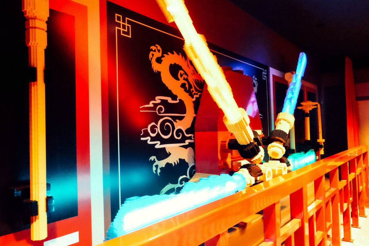 Inside NINJAGO The Ride (Photo: Michelle Rae Uy)