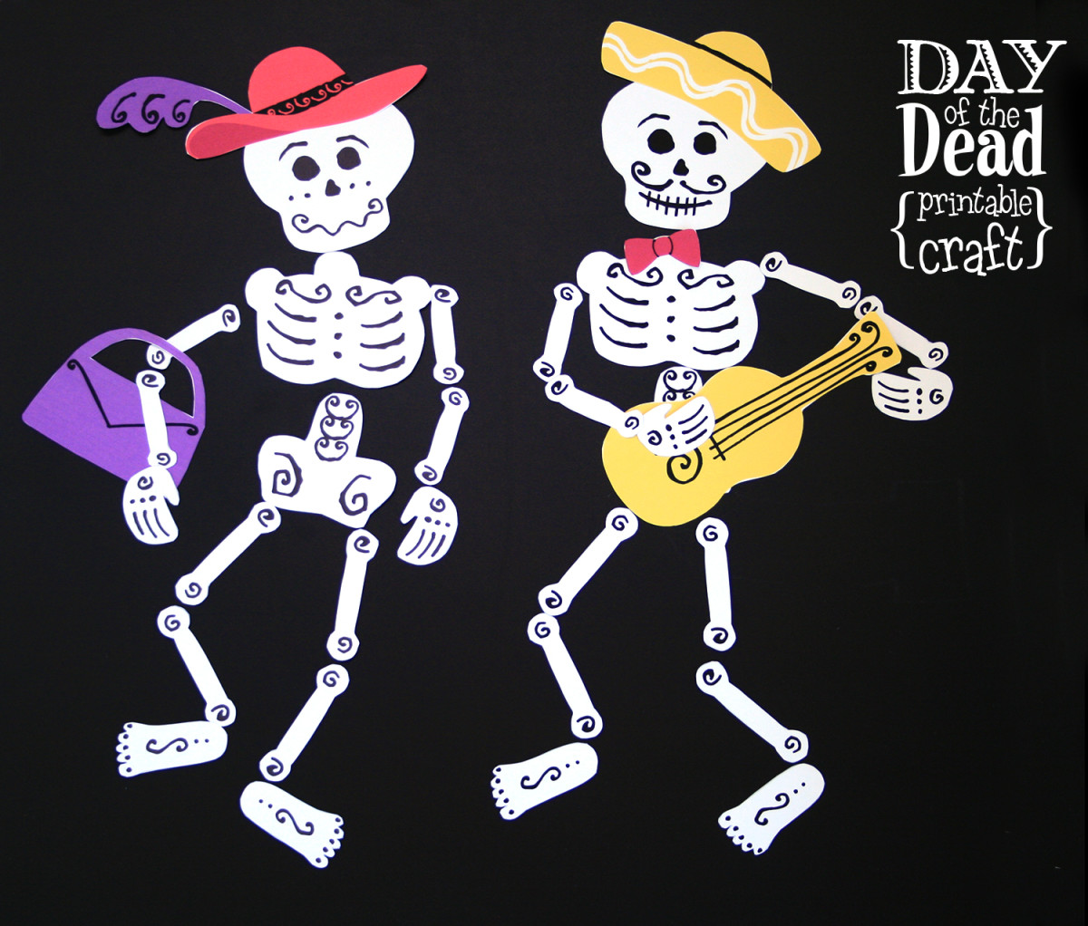 Day of the Dead Printables Craft - TodaysMama