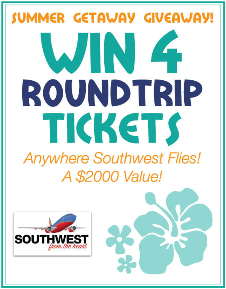 Summer Giveaway! Win 4 Roundtrip Tickets via @SouthwestAirlines