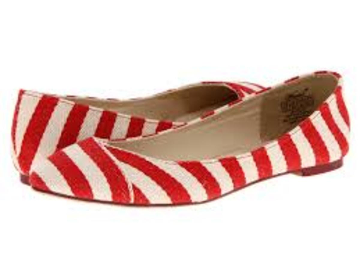 Wanted Ahoy Striped Flats from Zappos.com $39.99
