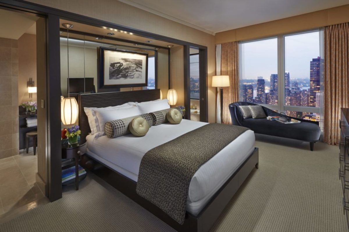 Central Park view suite at the Mandarin Oriental (Courtesy Mandarin Oriental)
