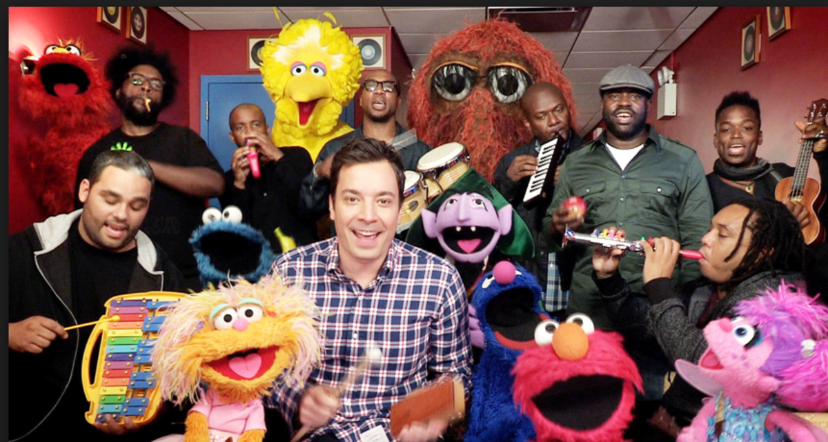 Jimmy Fallon and The Roots Sing Sesame Street