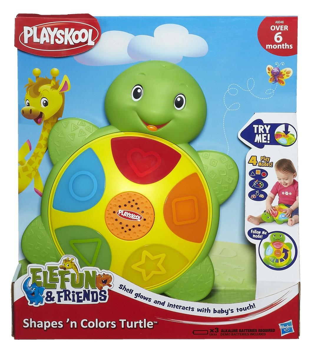 Playskool Core Shapes 'N Colors Turtle toy - IP