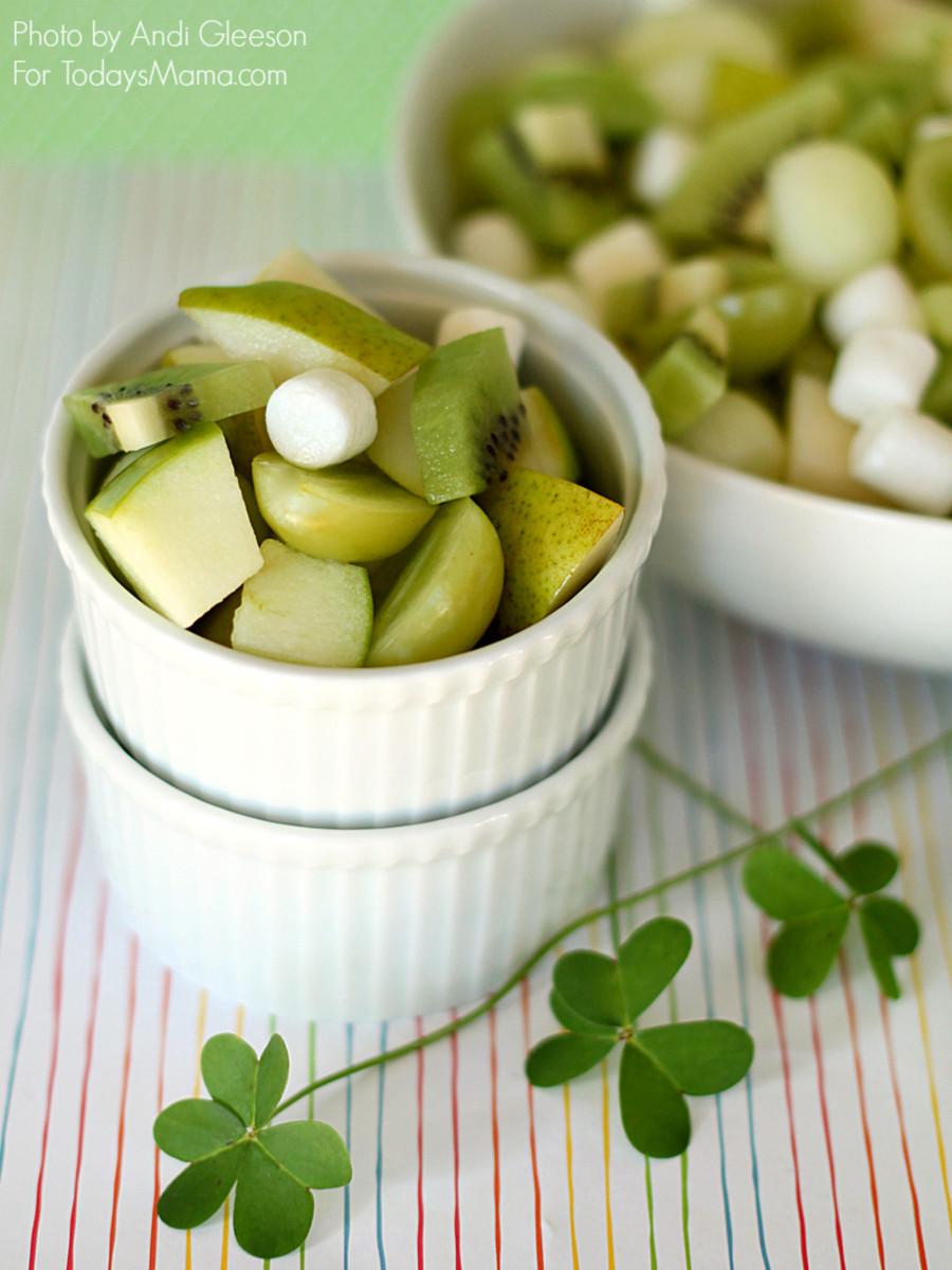 Lucky Green Fruit Salad