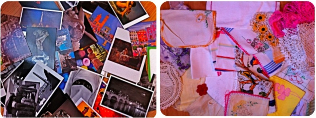 Collection-postcards-linens