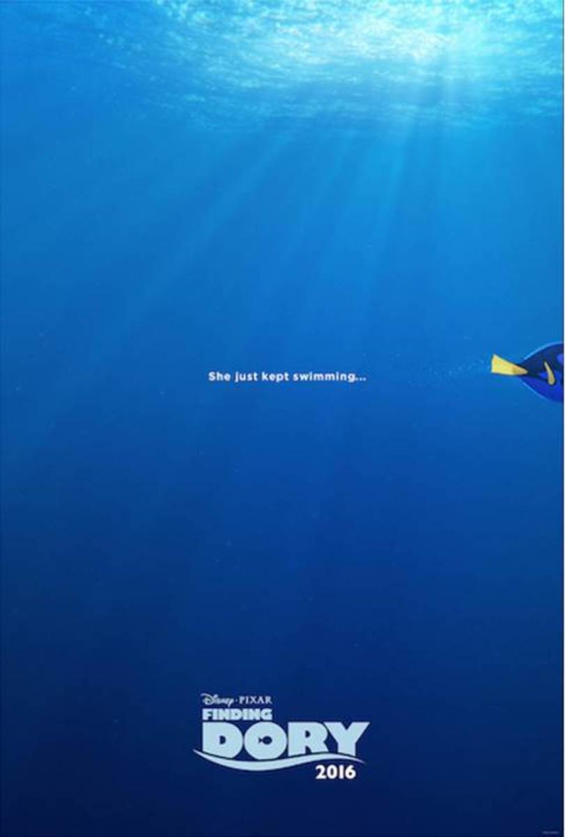 Finding Dory - She Just Kept Swimming!