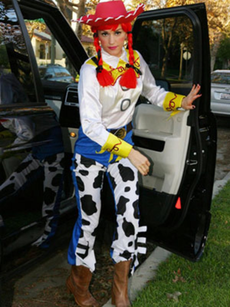 Gwen Stefani as Jesse from Toy Story